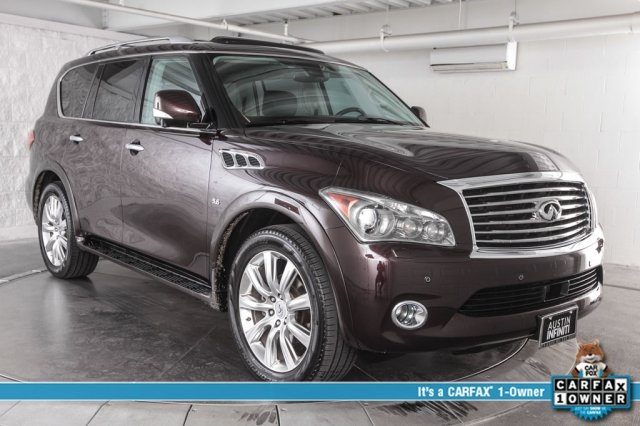 Pre-Owned 2014 INFINITI QX80 Technology